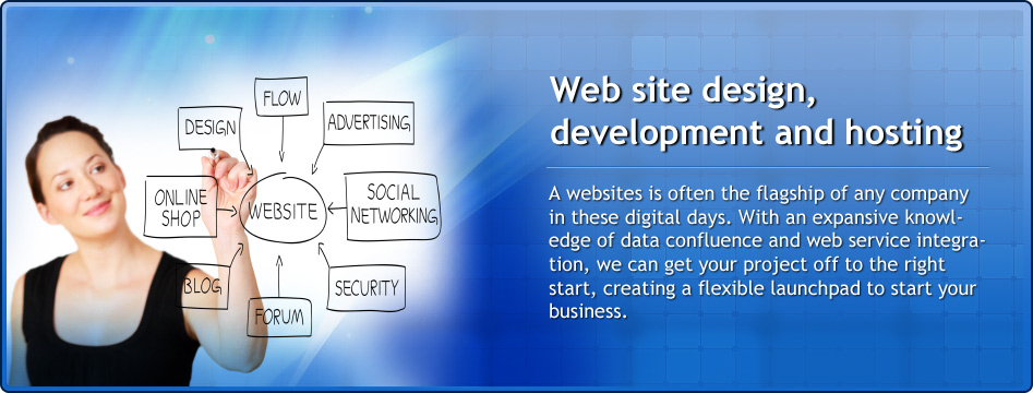 Website design, development and hosting