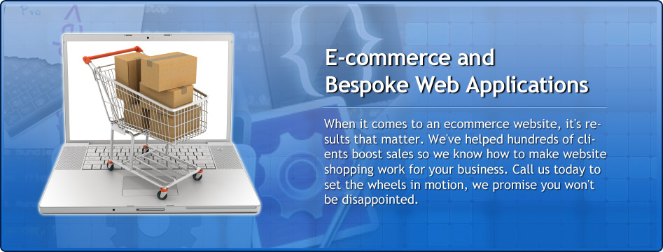 ECommerce and Bespoke Web Applications